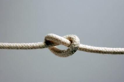 Cómo hacer un nudo doble