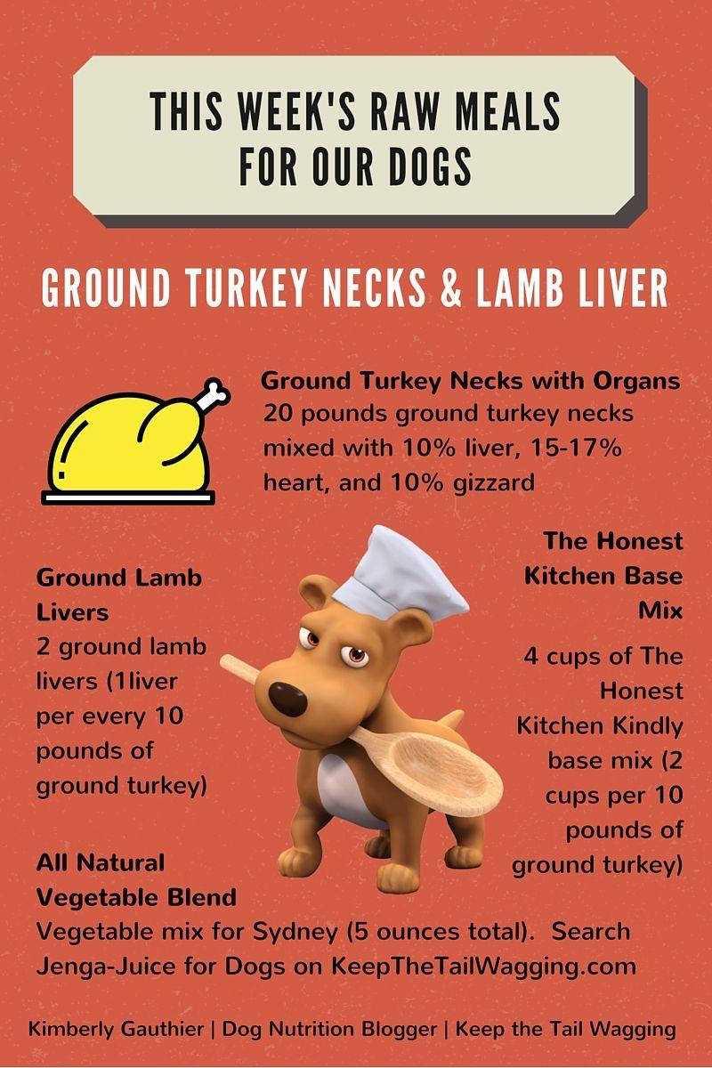 Turkey neck, Raw feeding for dogs