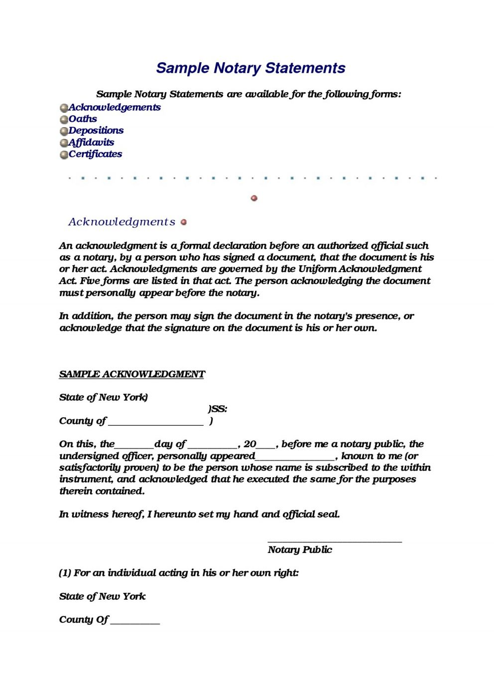 Inspiration Sample Notary Statements Within Notary Document Sample Letter Templates Free Letter Templates Lettering