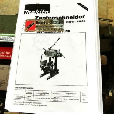 Zapfenschneider Makita 5500 S in SachsenAnhalt