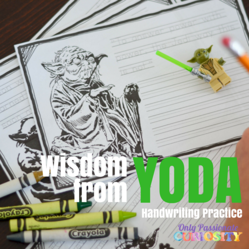 Oh, you're Star Wars fans are going to LOVE this! Celebrate May the 4th with this Free Wisdom from Yoda Copywork from Only Passionate Curiosity. The pack is