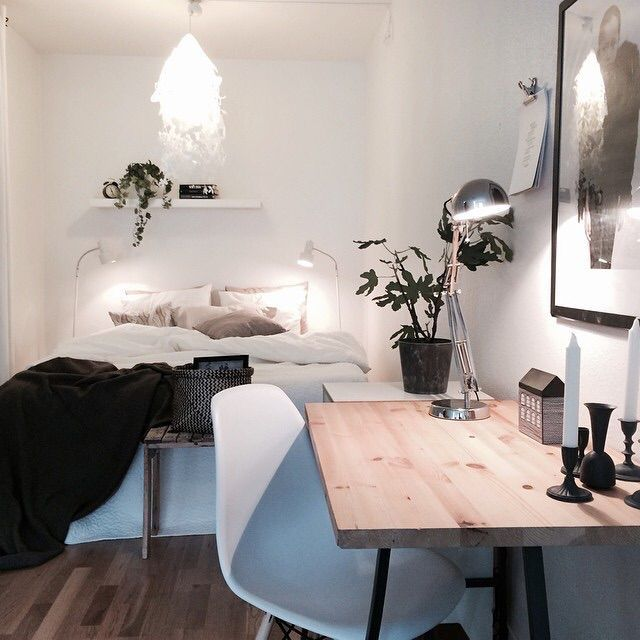 Apartment Desk Cozy Bedroom Decor Inspo Tumblr Room Goals Dorm Ideas Home Decorating