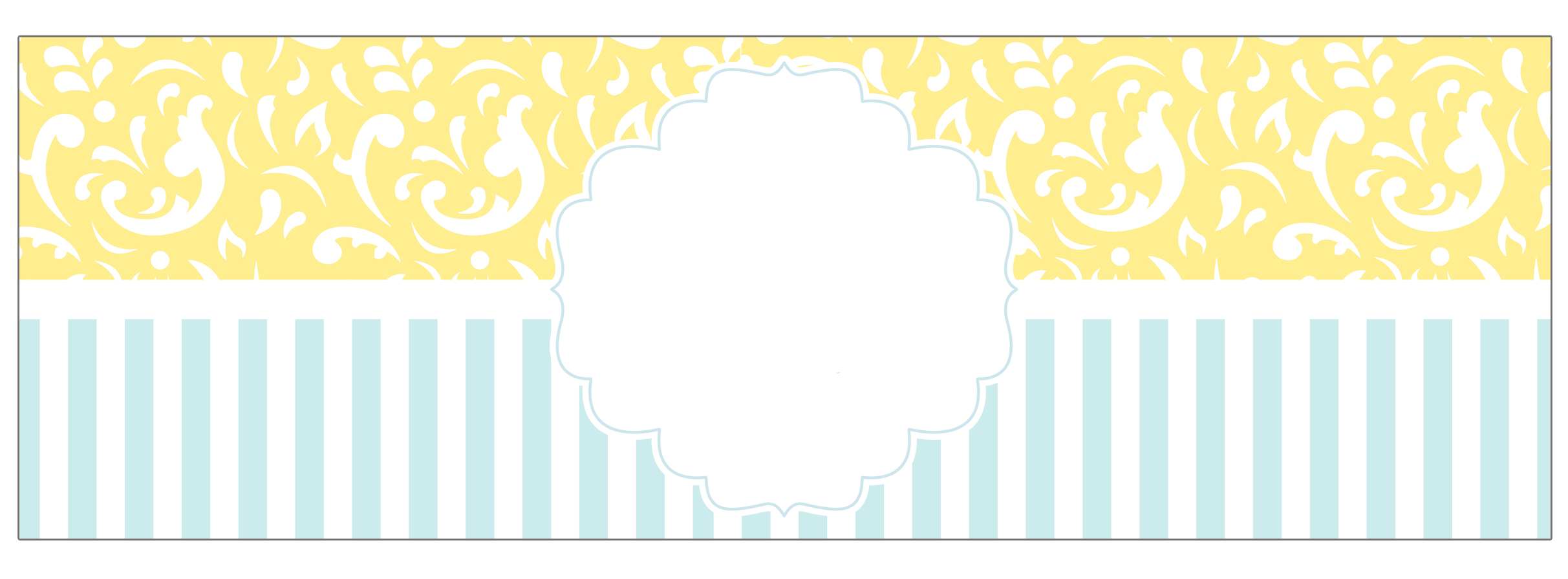 ثيمات جاهزة للتصميم Baby Frame Baby Yellow Baby Boy Shower