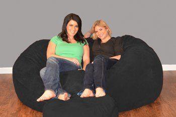 Bay Isle Home Breton Bean Bag Sofa Upholstery: