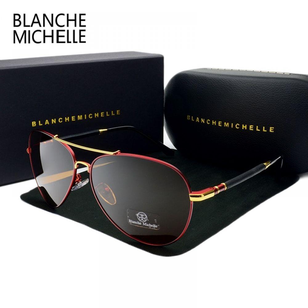 Pilot Sunglasses Men Polarized UV400 Sunglass Brand Designer