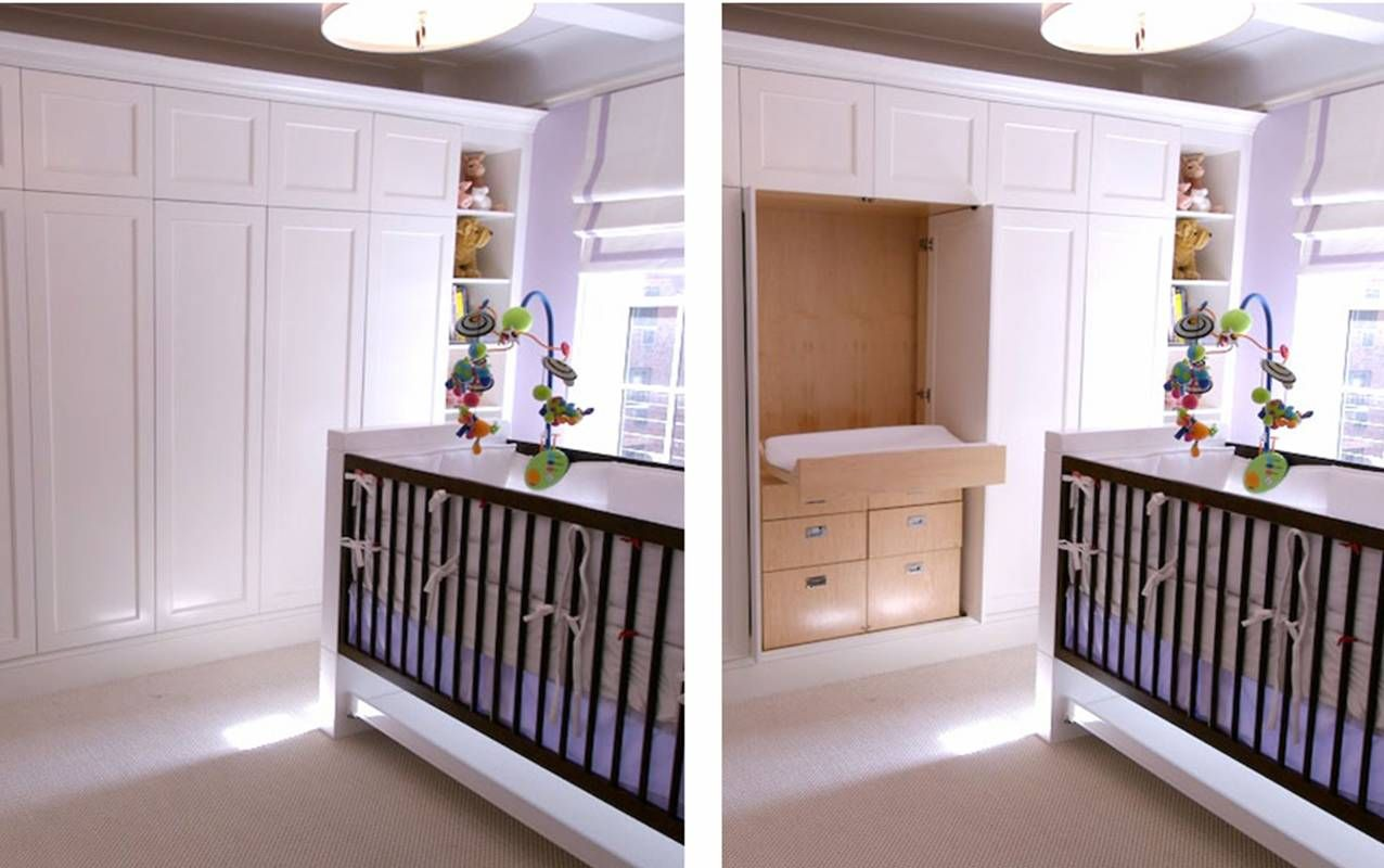 areainteriordesignnurseryclosetturnsintochangin - Wall Closet Design