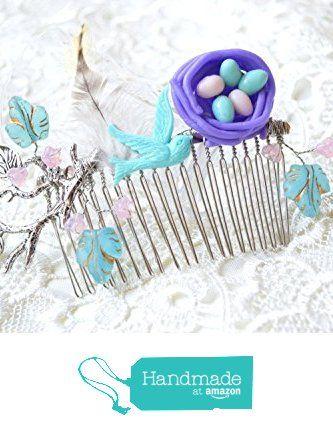 Hair comb Bird nest hair comb Wedding hairpiece Wedding hair comb ...