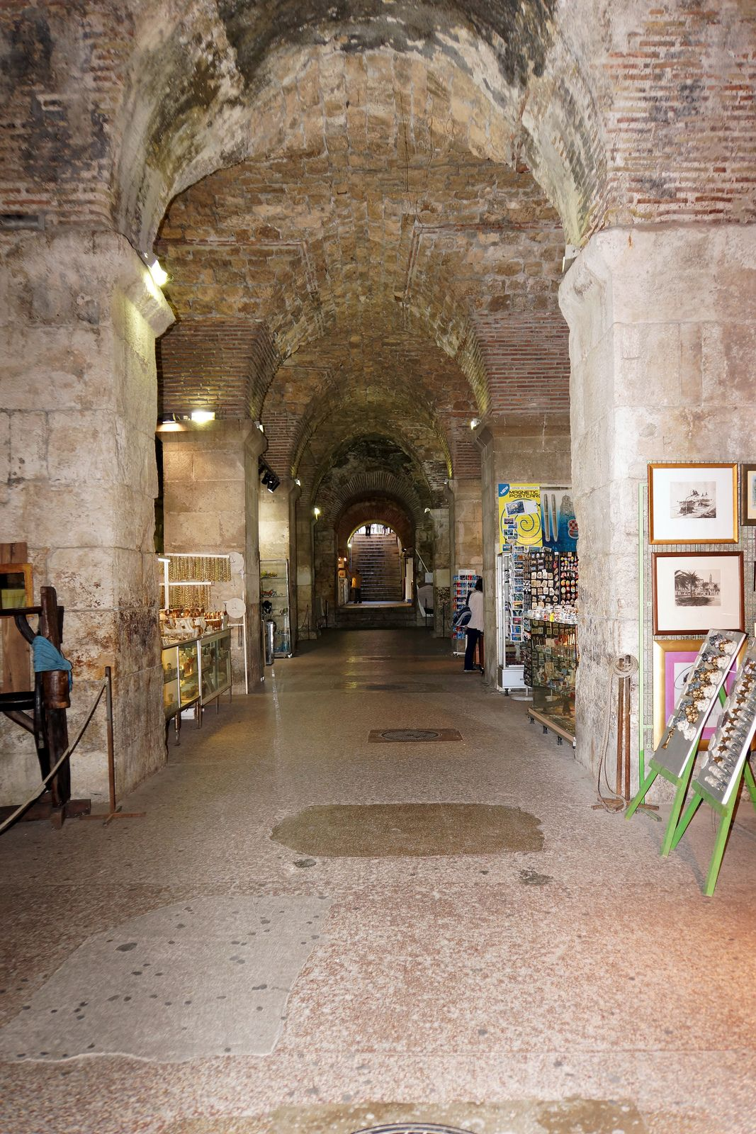 De Substructure of Diocletian's Palace in Split_ Croatia