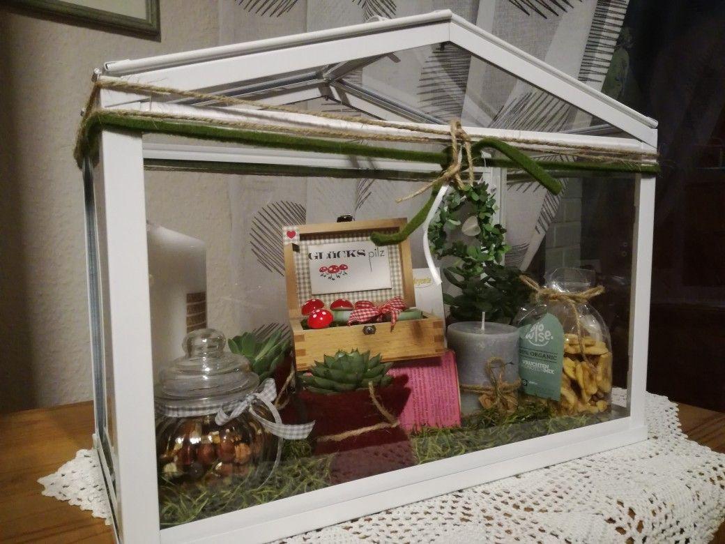 gewächshaus. glashaus ikea. moos geschenk | stampin' up! | pinterest
