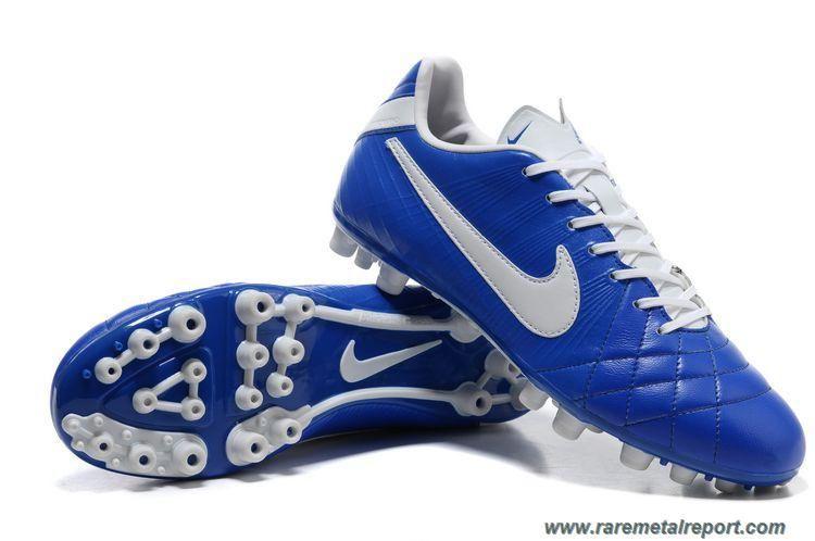 Nike Tiempo Legend Elite AG- White Blue