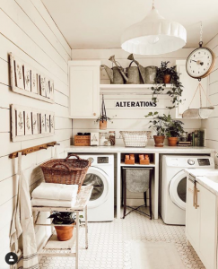 Whitetail Farmhouse on Instagram | Farmhouse Laundry Room