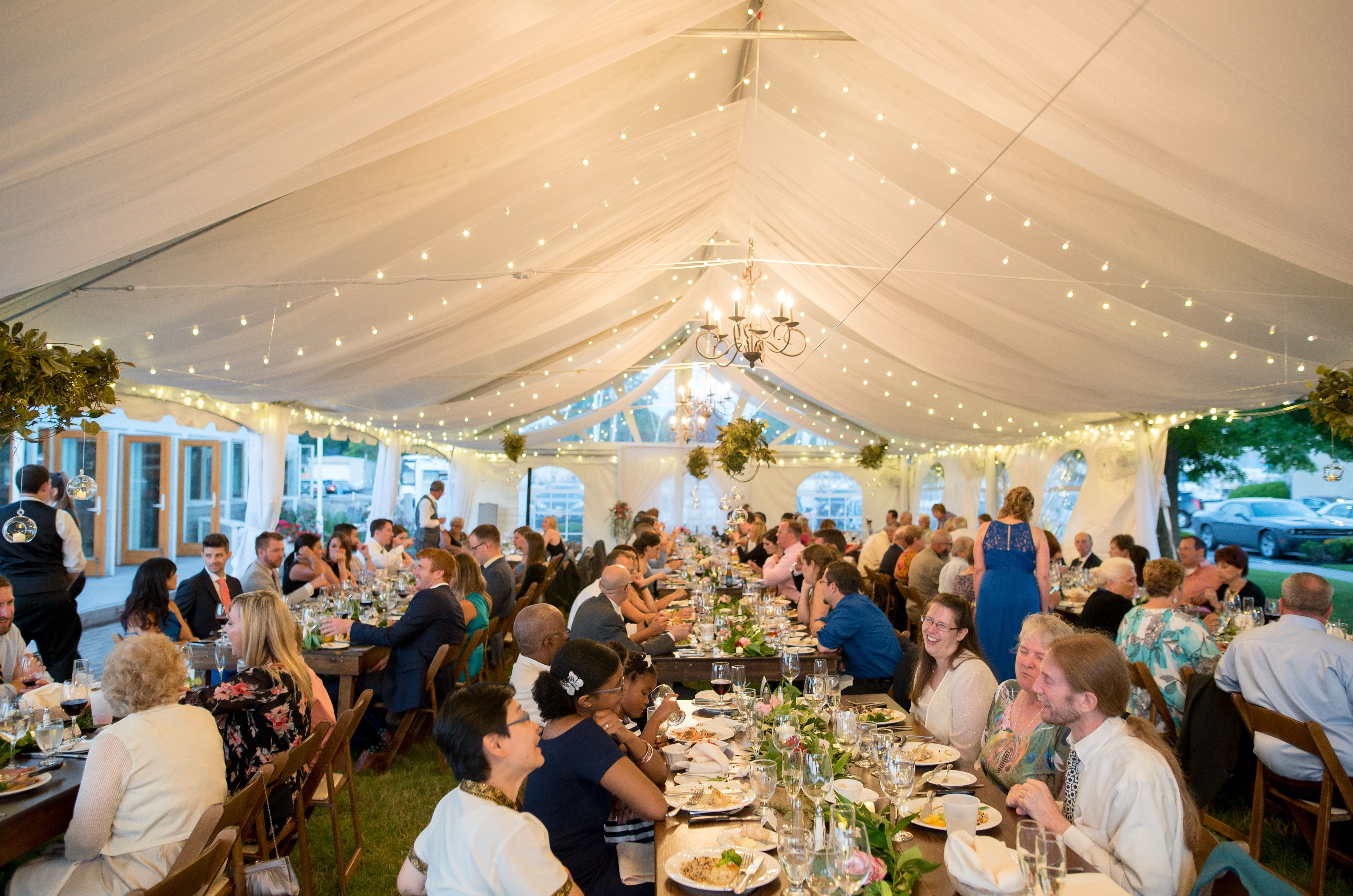 Tent Draping In A Frame Tent Wedding Tent Tent Wedding Tent