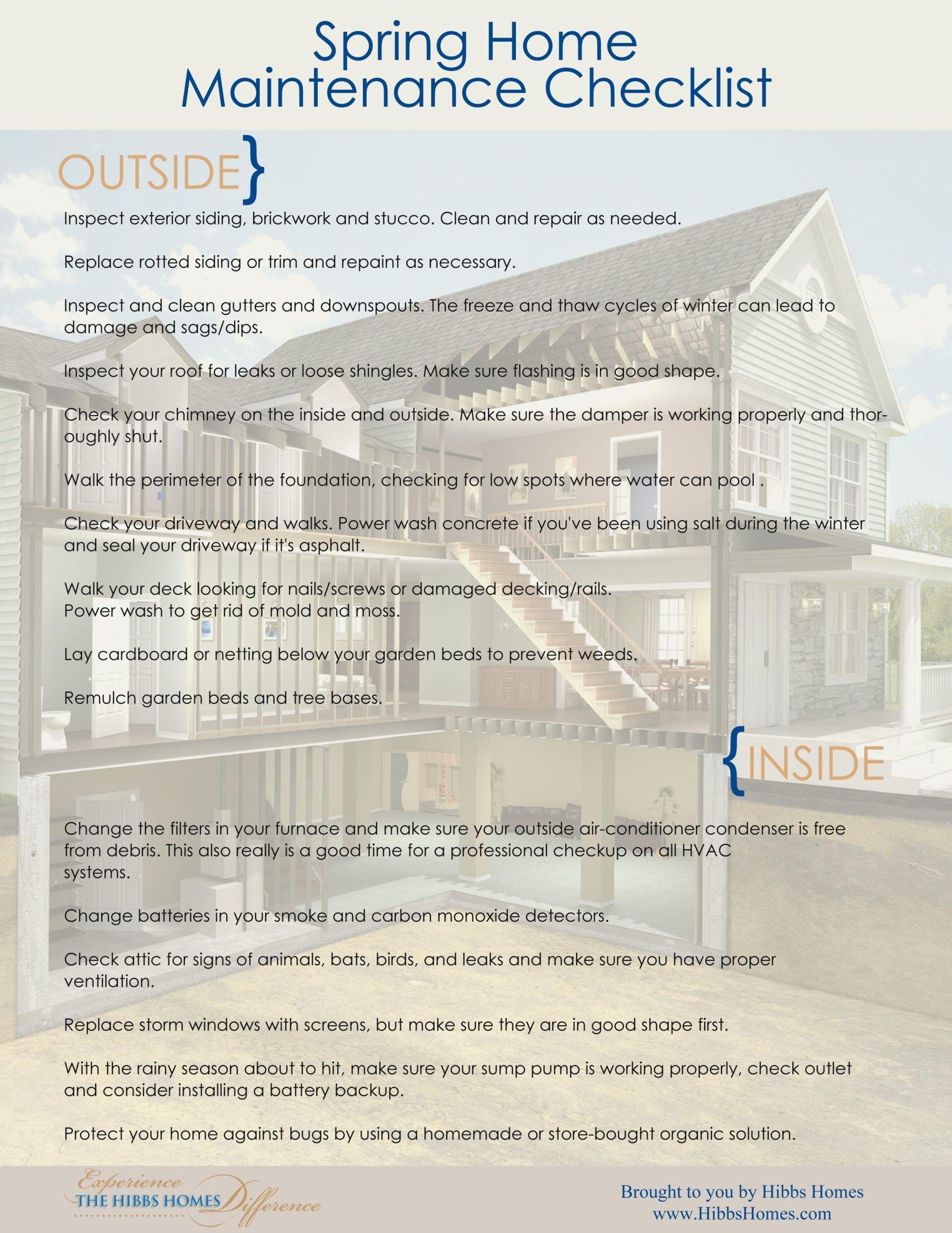 Blog Hibbs Homes Blog Hibbs Homes In 2020 Checkliste St