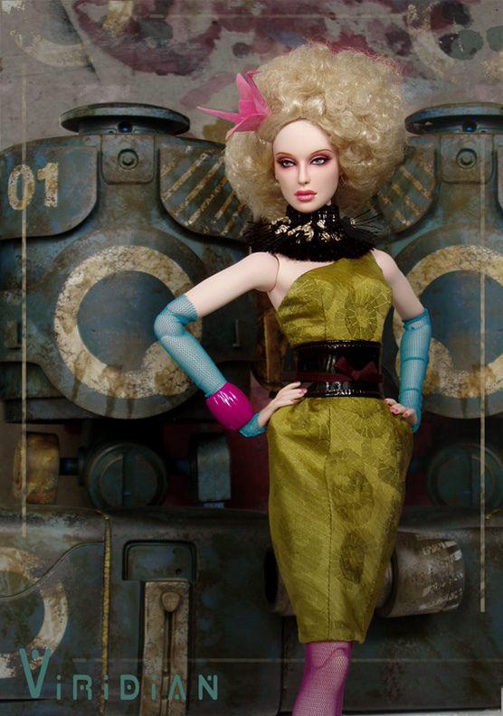 "ViriDian | OOAK Numina ""Viridian"" in Asher wig, an… | Flickr - Photo Sharing!"