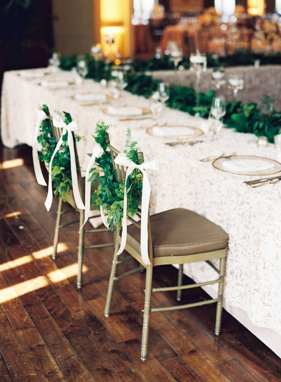 All white church wedding decor UNC College Sweethearts Have More to Celebrate than Just the Final