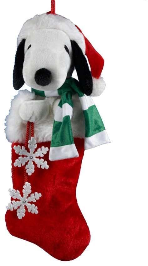 kurt adler snoopy christmas stocking affiliate link - Snoopy Christmas Stocking