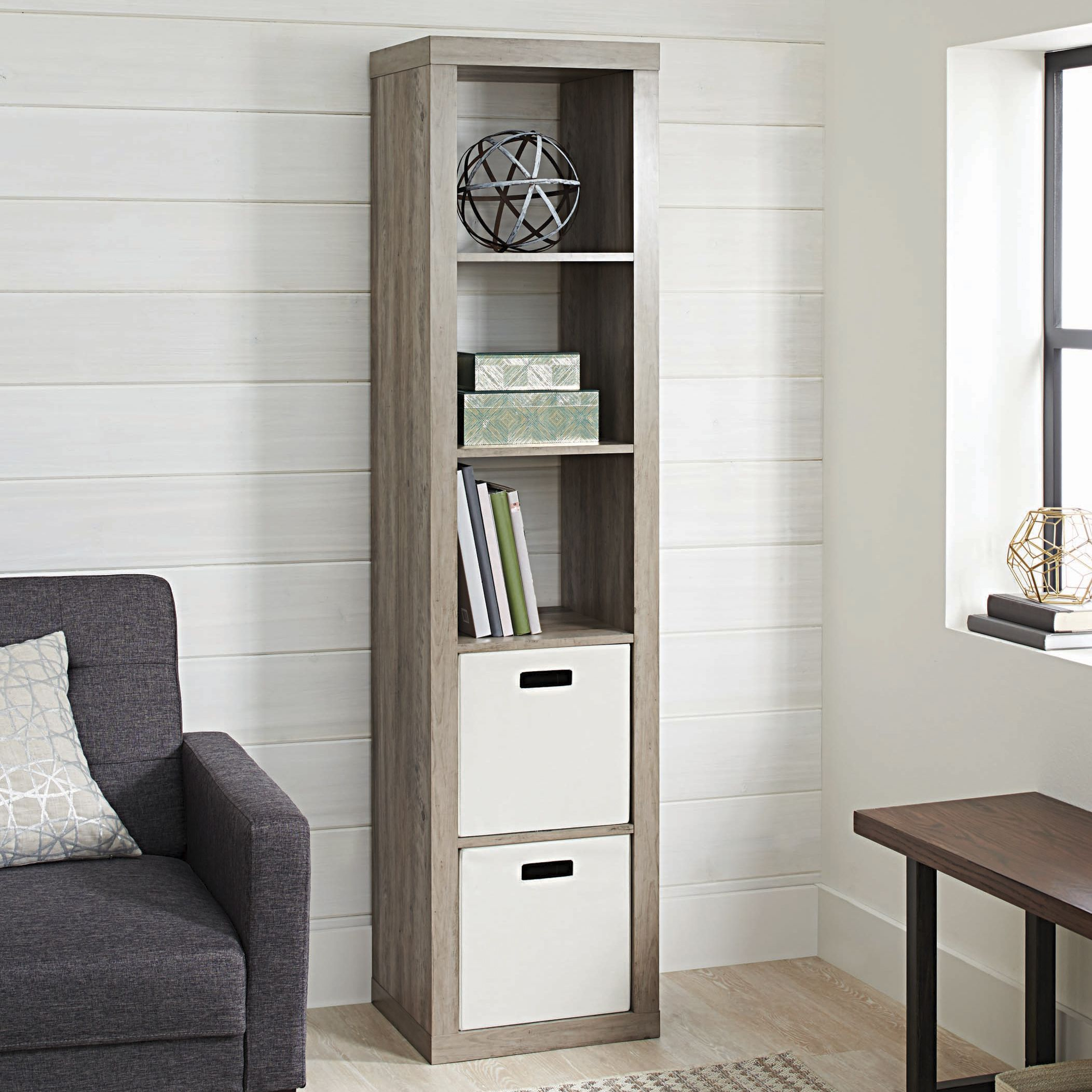 14b1fd7382bac86f8c202d48824f1164 - Better Homes And Gardens 4 Cube Organizer Rustic Gray