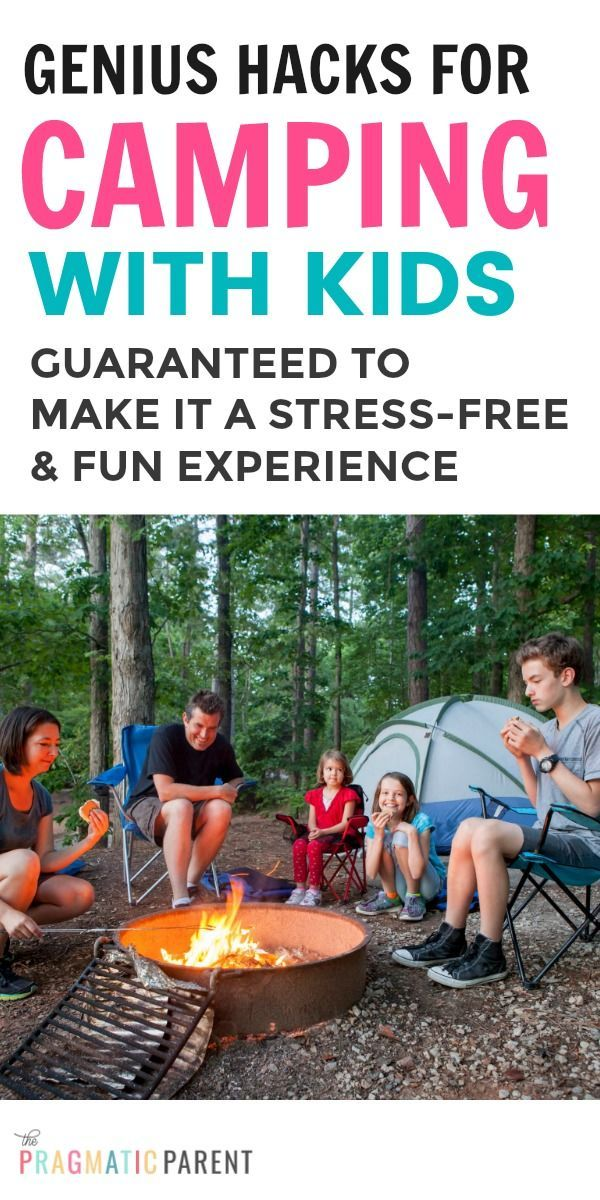 Photo of Genius Hacks to Make Camping with Kids Fun & Stress-Free