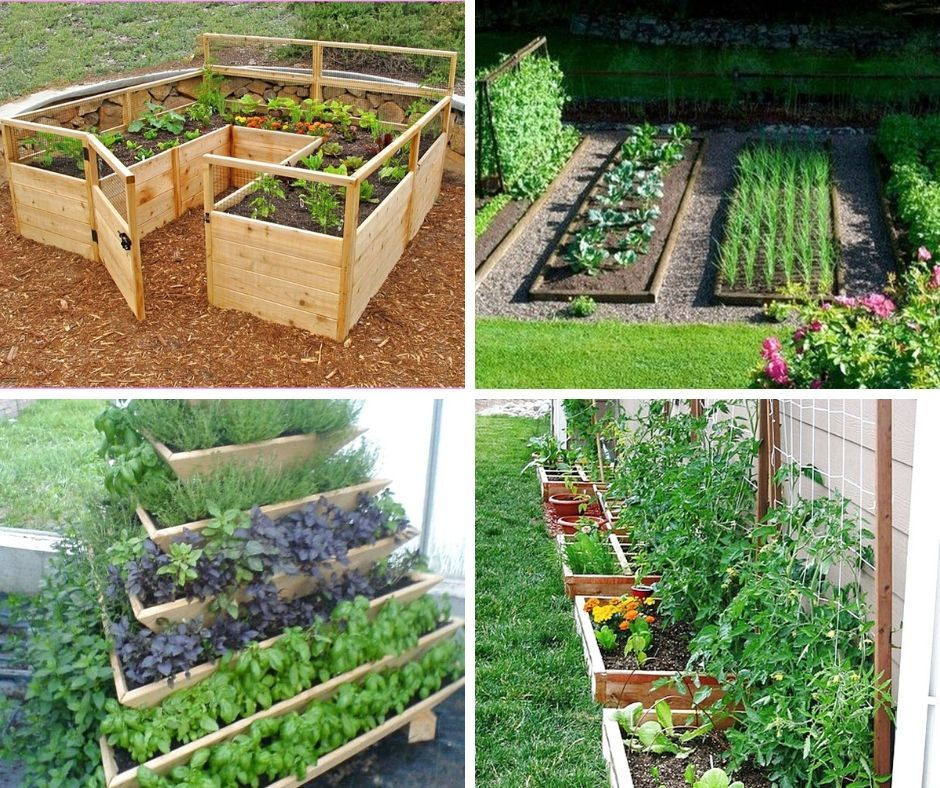 20 Best Backyard Vegetable Garden Design Ideas In 2020