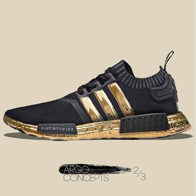 ADIDAS NMD GOLD CONCEPT