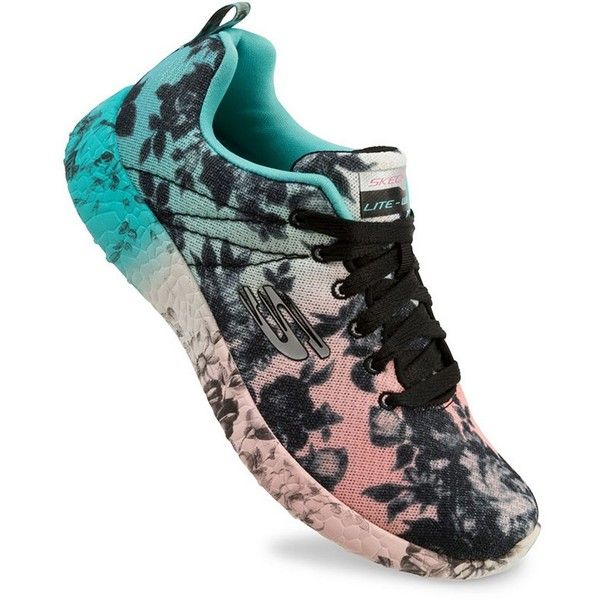 5c2f0f48318f Skechers Burst Wild Rose Women s Shoes ( 73) ❤ liked on Polyvore featuring  shoes