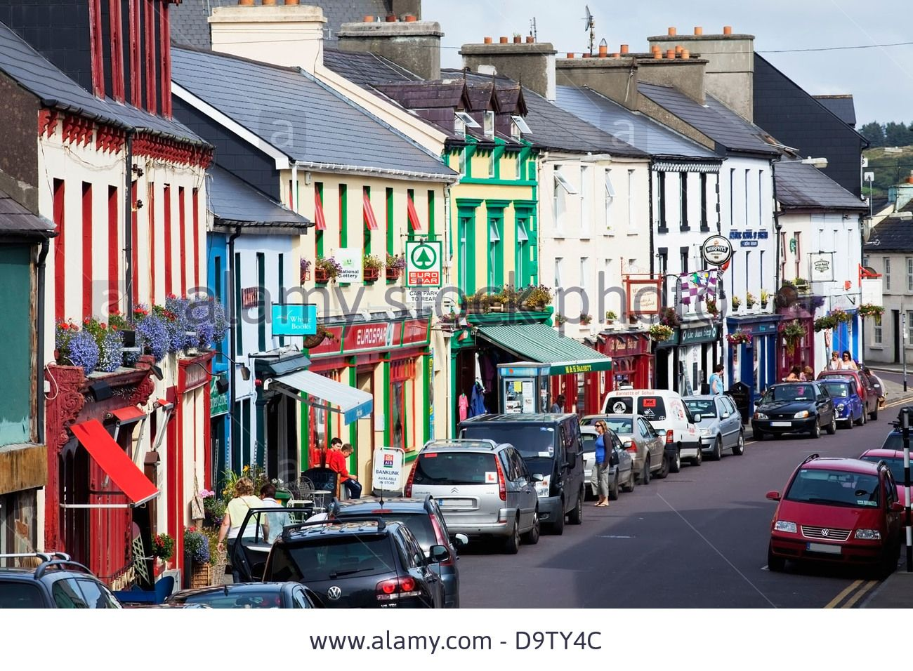 You're sure of a colourful Irish welcome in the               pretty village of Schull in West Cork County Cork Ireland,               Busy Street, West Cork, Best Pubs, Colourful Buildings,               Ireland Homes, Heaven On Earth, Watercolour, United               Kingdom
