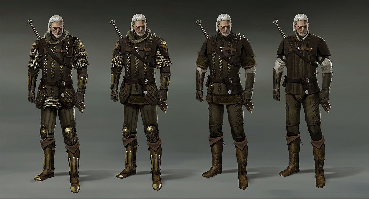 The Witcher 3 Gryphon Armor Marek Madej Fantasy Character Design The Witcher Concept Art