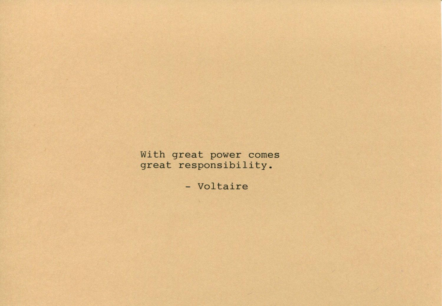 Voltaire Quote Made On Typewriter Art Quote Wall Art With Great