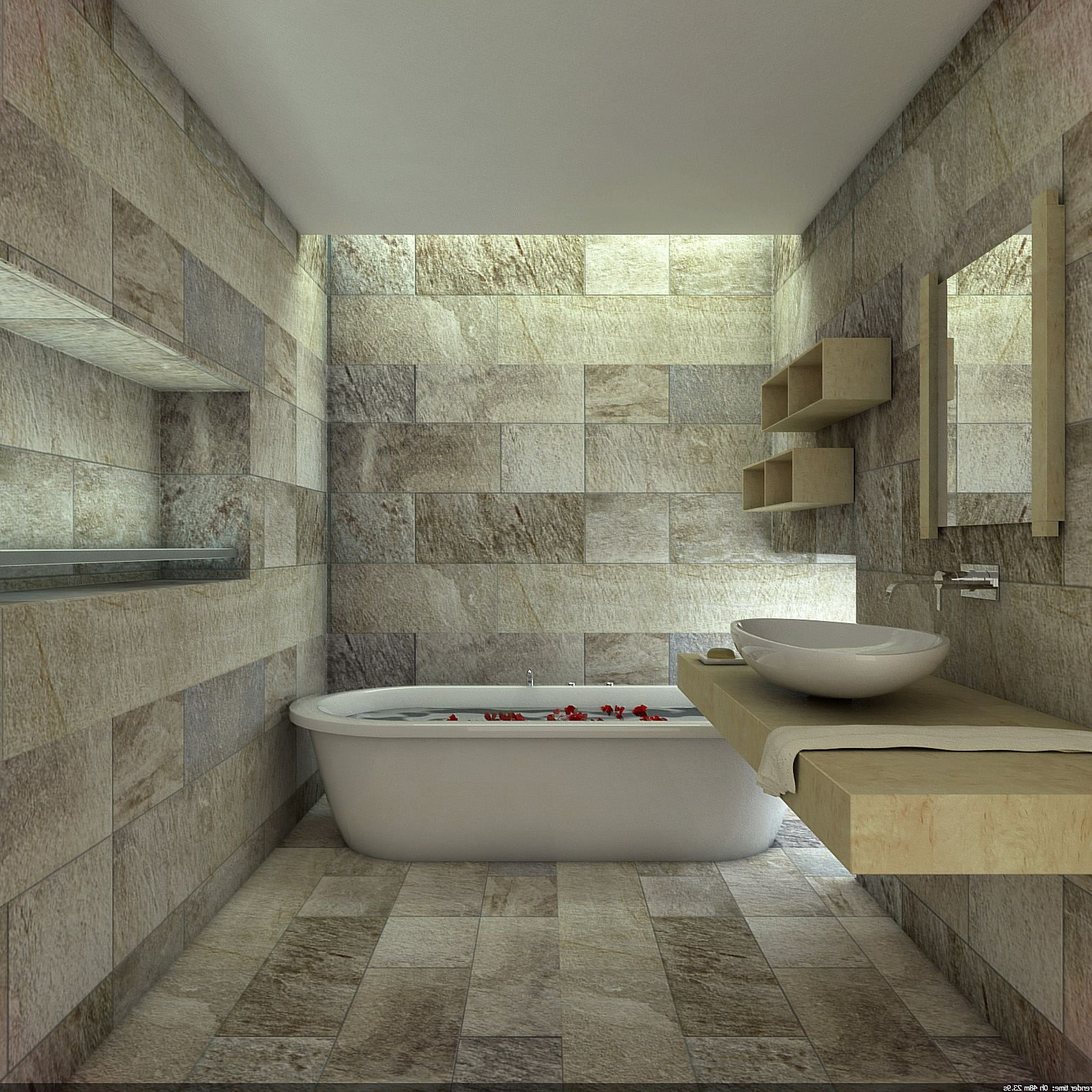 Image result for natural stone bathrooms designs | Bathroom ...