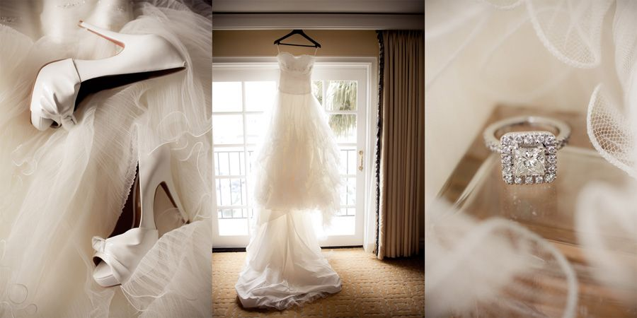 Classic wedding details by Brandon Wong Photography
