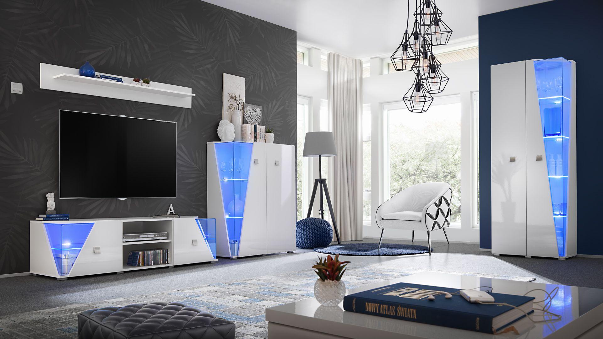 Elgin - modern living room wall unit in 3  Living room wall