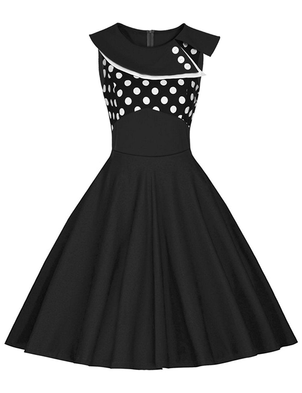 24f21f00 là vestmon damski retro Swing drugą sukienka koktajlowa sukienka ...