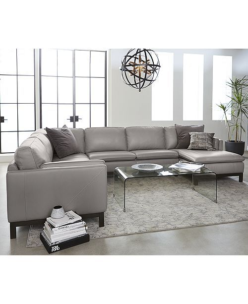 Superb Closeout Ventroso 3 Pc L Shaped Leather Sectional Sofa Inzonedesignstudio Interior Chair Design Inzonedesignstudiocom
