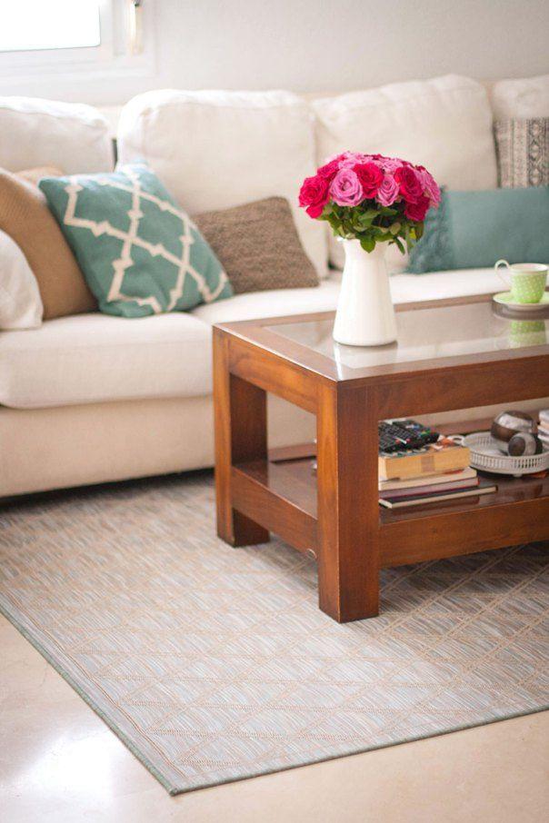 Una alfombra fácil de limpiar y además, ¡preciosa ...