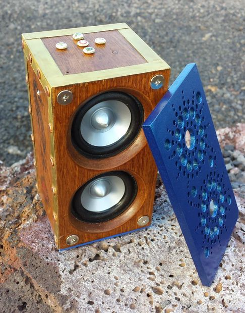 fun unique bluetooth speakers. Steampunk Bluetooth Speakers  music audio woodworking speakers and