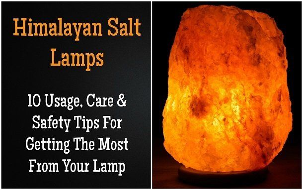 Himalayan Sea Salt Lamp Custom Himalayan Salt Lamps 10 Essential Usage Care & Safety Tips