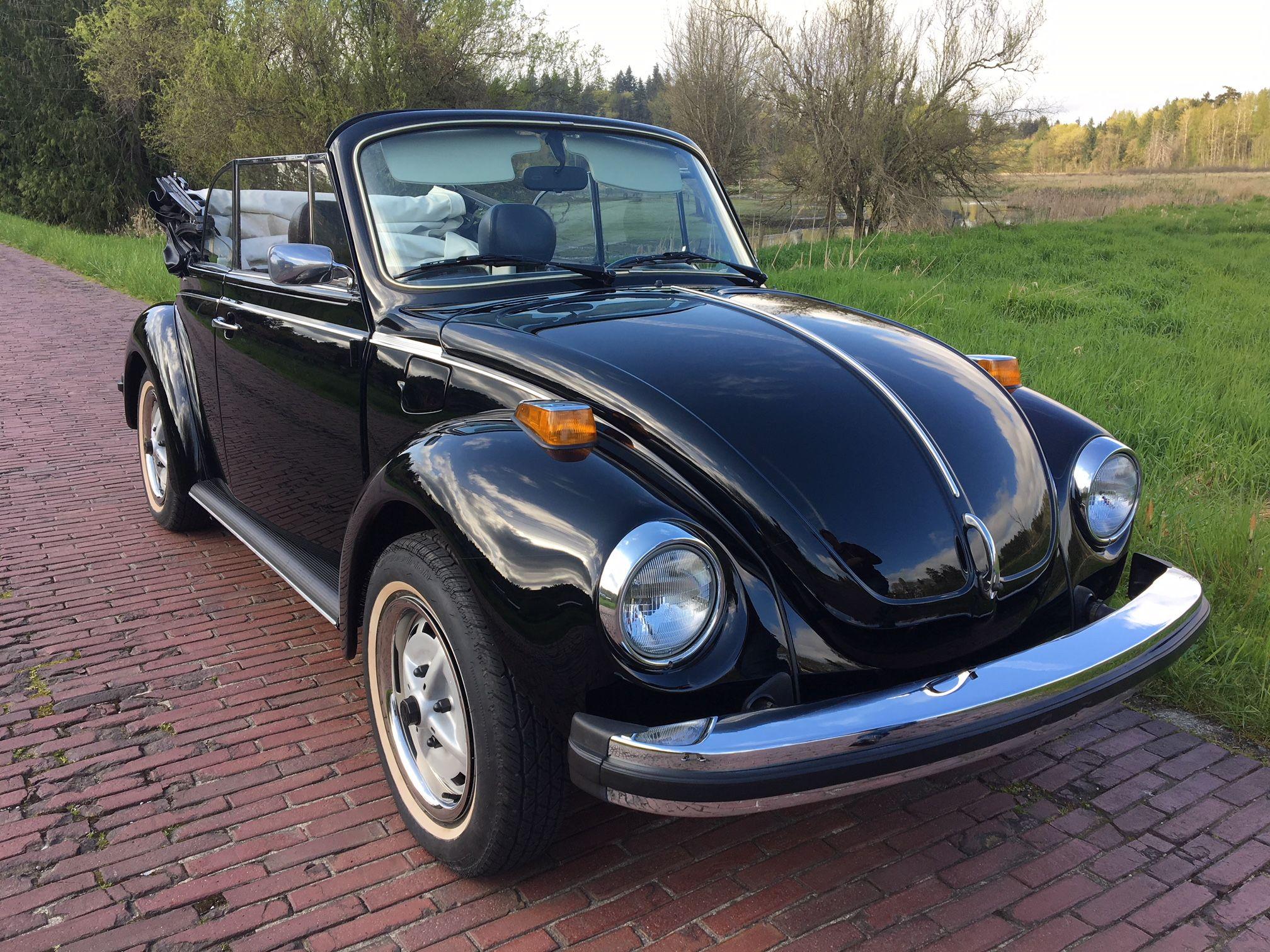1979 Volkswagen Super Beetle Convertible Epilogue Edition