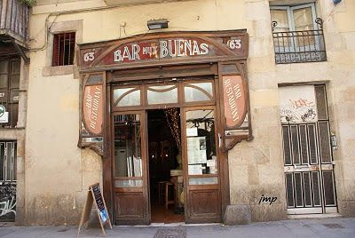 Bar Muy Buenas. Rambla, 115. Barcelona