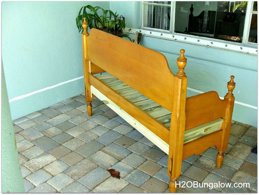 How To Make An Easy Headboard Bench Woodworking bench
