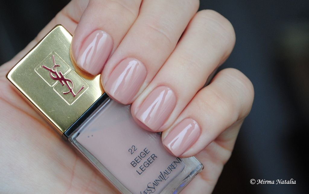 ysl nail polish beige leger - Google Search | Nail Polish☆ | Nude ...