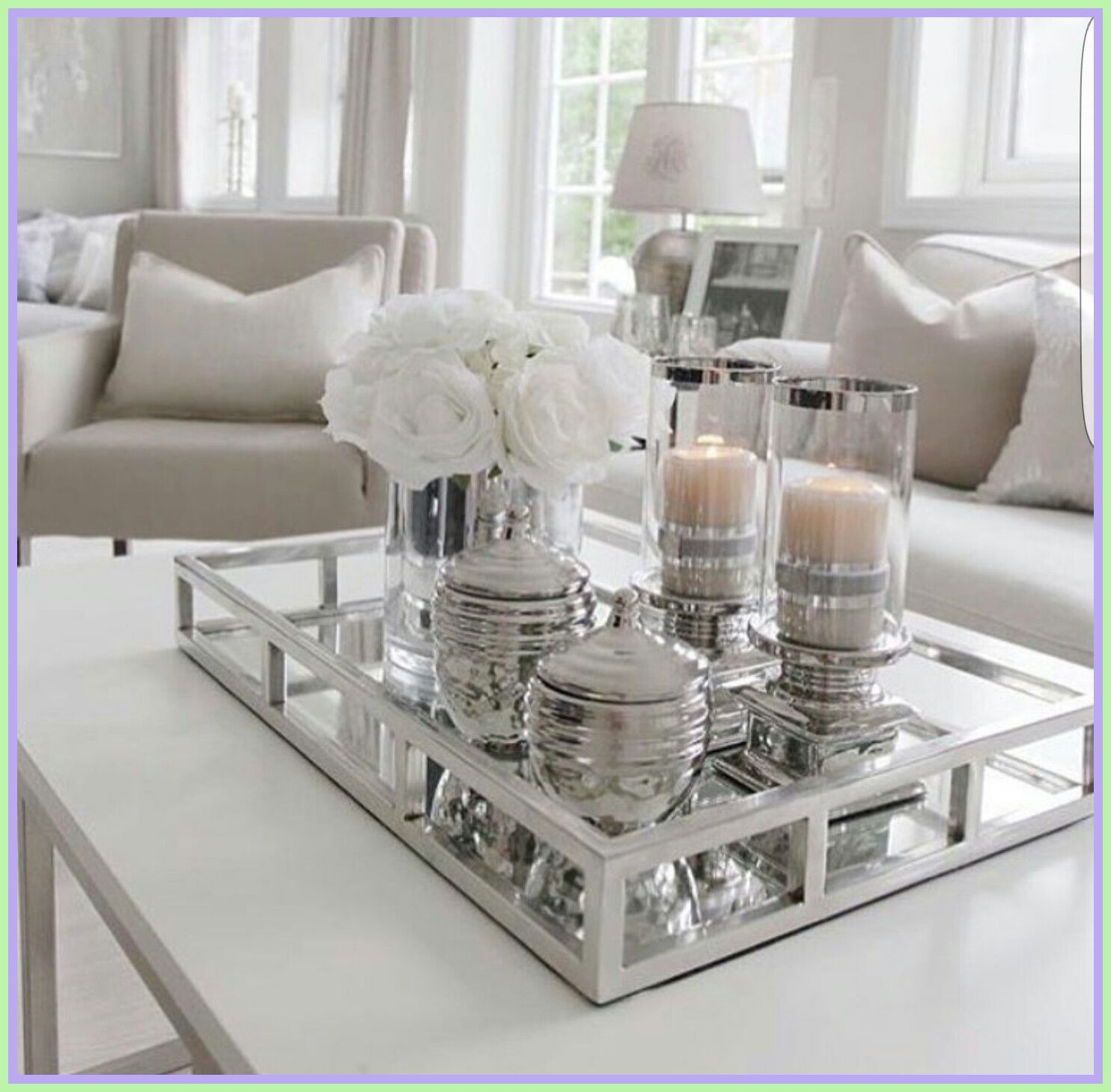 49 Reference Of Table Decoration Coffee Tray Table Decor Living Room Elegant Living Room Living Room Table Elegant living room tables