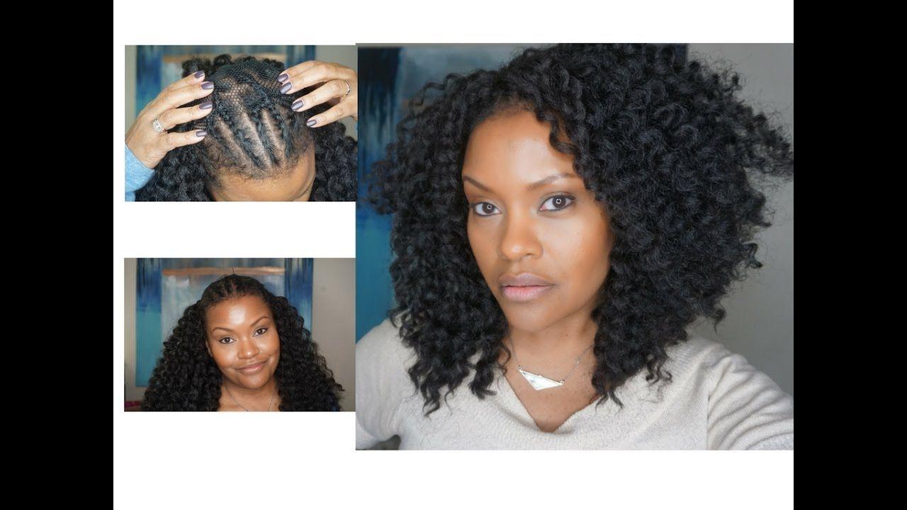Quick Easy Crochet Braids Alopecia Fine Hair Thinning Hair