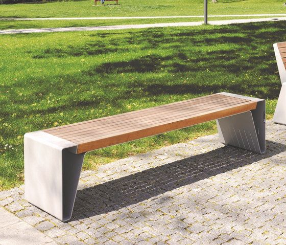 Radium Park Bench By Mmcite Benches Bench Design Outdoor Park Bench Design Bench