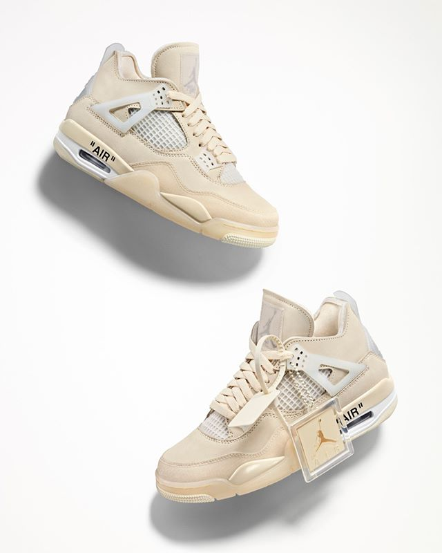 Off White Off White C O Jumpman23 Air Jordan 4 Exclusively Available At Off White Com From July 25th Nike Jordan Retro 4 Jordan 4 Nike Jordan Retro