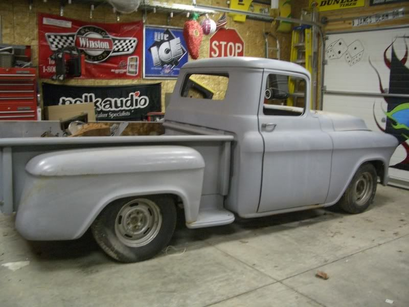 1955 chevy truck | Re: 1955 Chevy Pickup!!! Project For Sale!! | 55 ...