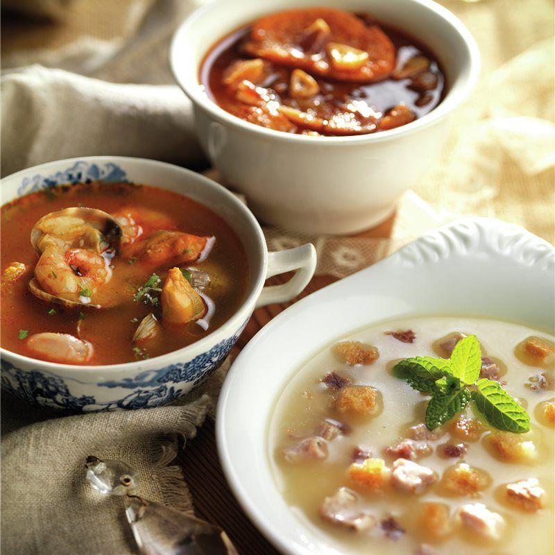 Sopa Con Pescado Receta Recetas Saludables Sopa Recetas De Comida Saludable