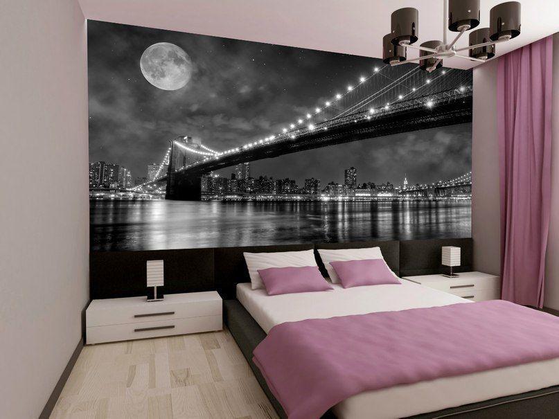 Идеи фотообоев для спальни фото