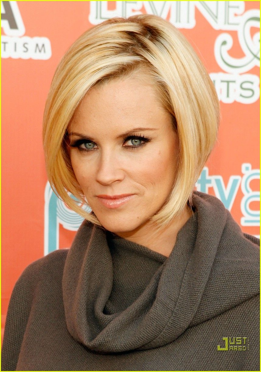 jenny mccarthy | hair inspiration | bob hairstyles for fine
