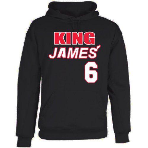 "Shedd Shirts Men's Lebron James Miami Heat ""King James"" Hooded Sweatshirt - http://www.nbamixes.com/shedd-shirts-mens-lebron-james-miami-heat-king-james-hooded-sweatshirt - http://ecx.images-amazon.com/images/I/41uVqIlfkcL.jpg"