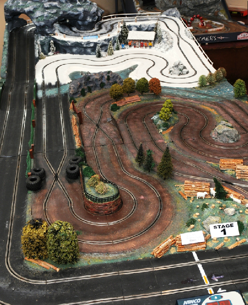 Rally Track - Wye Valley Slot car Club